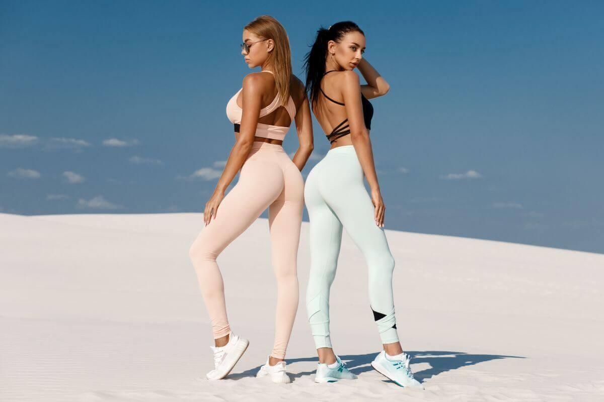 Beauty Frauen nebeneinander - ein Vergleich
